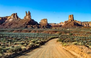valley of the gods moto trails usa