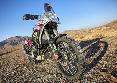 dunlop en91 knobby tire on the Yamaha Tenere 700