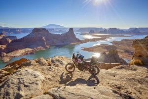 Utah Lake Powell Tenere 700